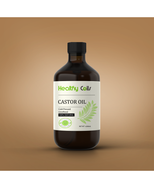 200 ML Cold Pressed Castor Oil
