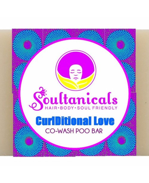 Curlditional love- co-wash poo bar