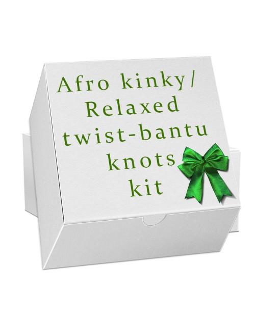 Twist or  Bantu Knots Kit