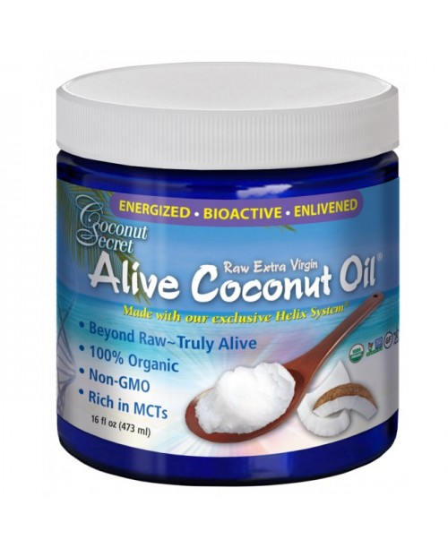 Raw Extra Virgin Live Organic Coconut Oil