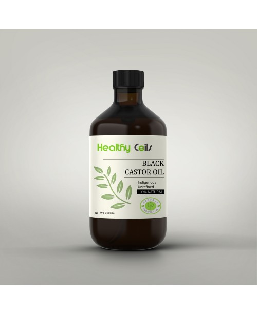 100% Natural Unrefined Black Castor Oil
